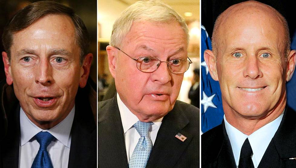 David Petraeus, Keith Kellogg, Robert Harward