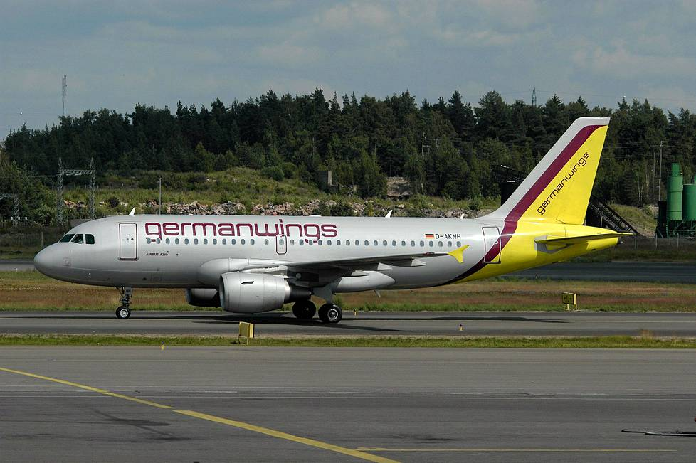 Germanwingsin Airbus A 319.
