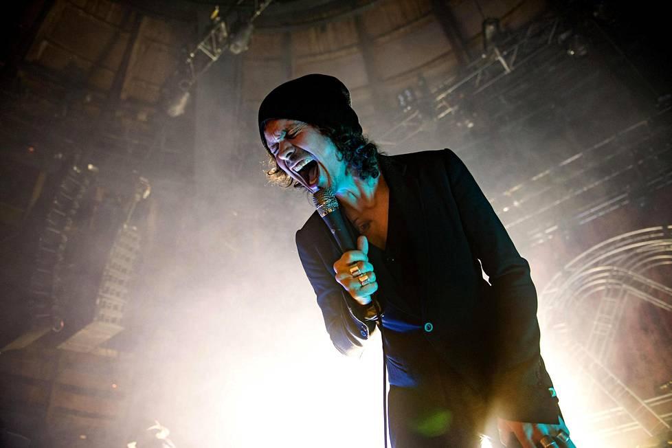 Noin 6 600 katsojaa näki Ville Valon johtaman HIM-yhtyeen kahdessa konsertissa Lontoon Roundhousessa.