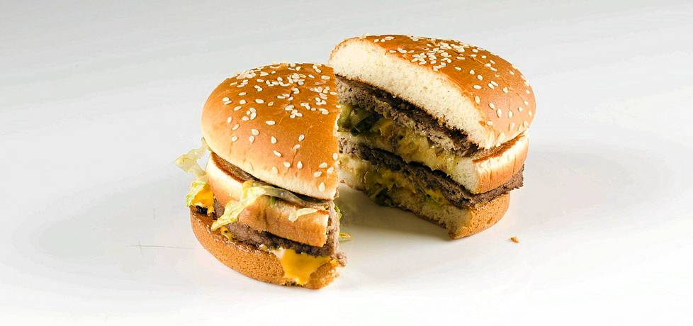 McDonaldsin tunnetuin hampurilainen on Big Mac.