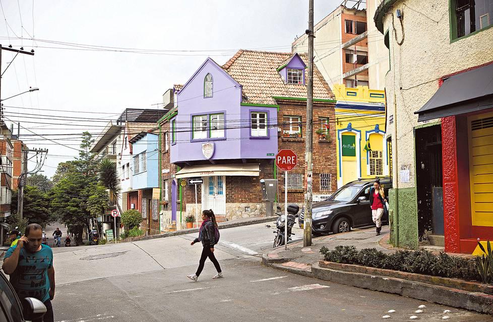 La Macarenan kaupunginosa sijaitsee rinteessä ydinkeskustan koillispuolella ja on kuin San Franciscon miniatyyri yhden kadun ympärillä.