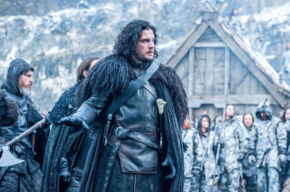 Kit Harington näyttelee Game of Thronesissa Jon Snow'ta.