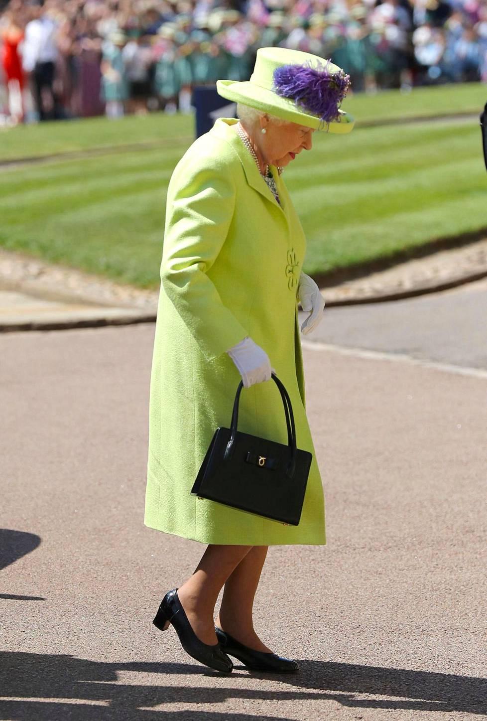 92-vuotias kuningatar Elisabet II.