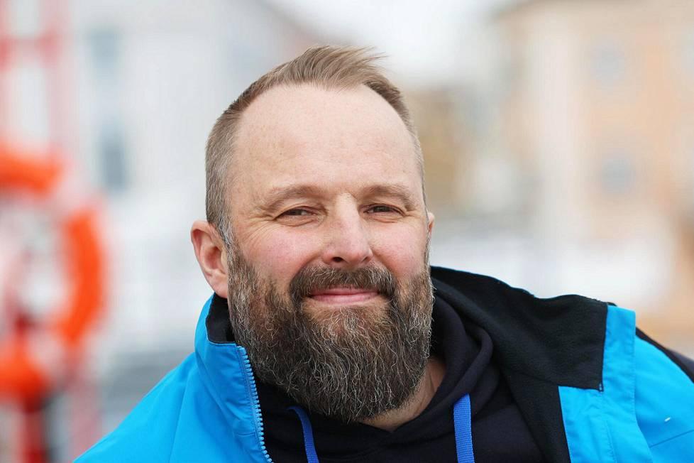 """""""Haluamme tehdä suomalaista avomerihistoriaa"""", Arto Linnervuo sanoo."""