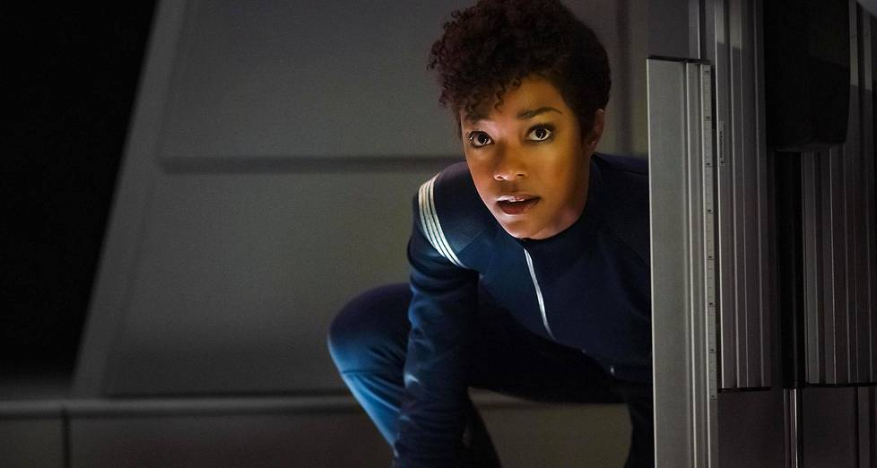 Star Trek: Discoveryn päähenkilö on Michael Burnham (Sonequa Martin-Green).
