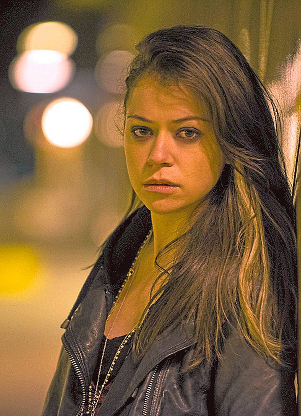 Orphan Blackin pääosassa on Tatiana Maslany.