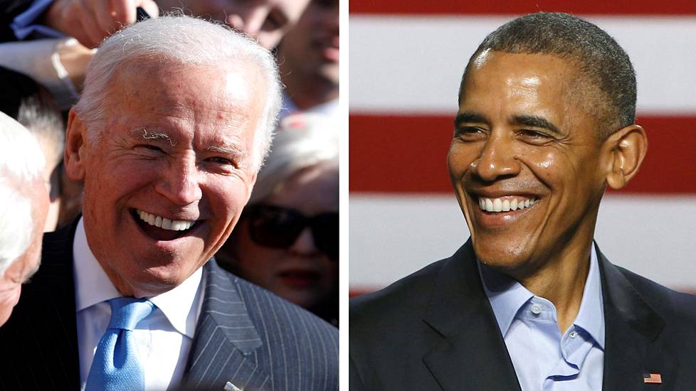 Joe Biden ja Barack Obama