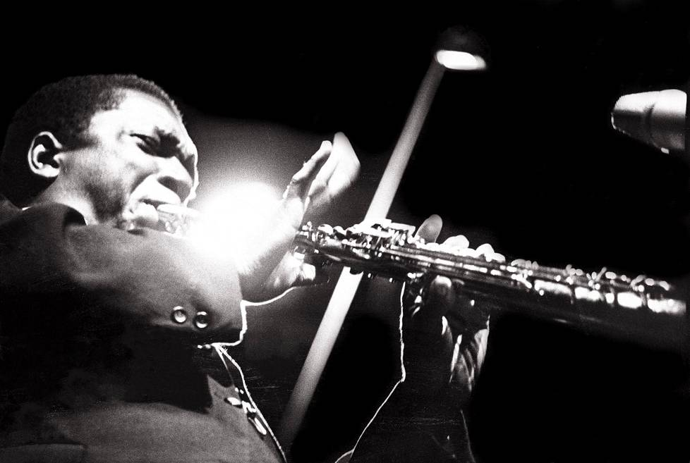John Coltrane Half Note Clubilla New Yorkissa 1965.