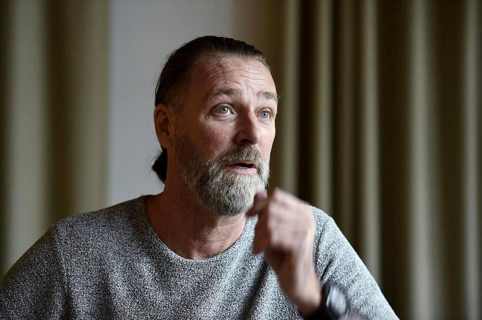 Patrik Sjöberg vieraili torstaina Espoossa seminaarissa, joka käsitteli lasten ja nuorten suojaamista seksuaalirikoksilta.