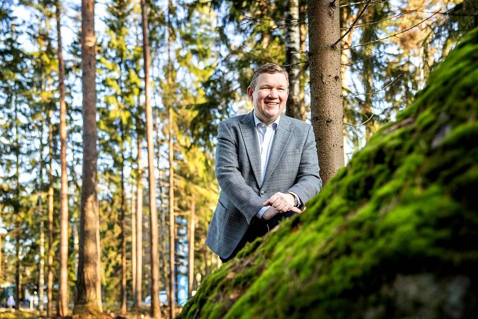 Enston toimitusjohtaja Hannu Keinänen