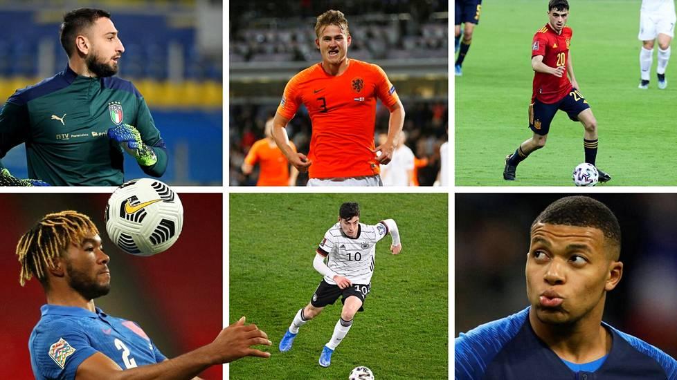 Nousevatko EM-lopputurnauksessa nuoret pelaajat tärkeisiin rooleihin?