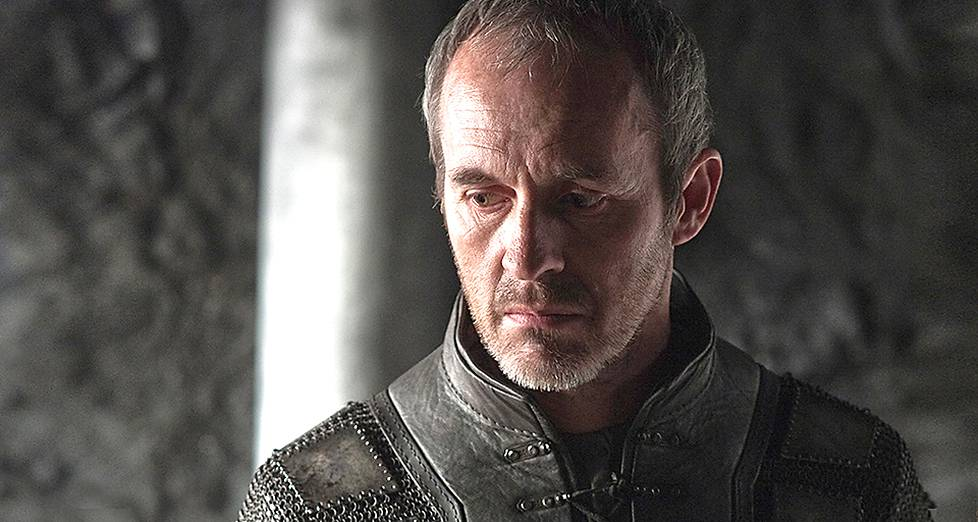 Stannis Baratheon (Stephen Dillane).