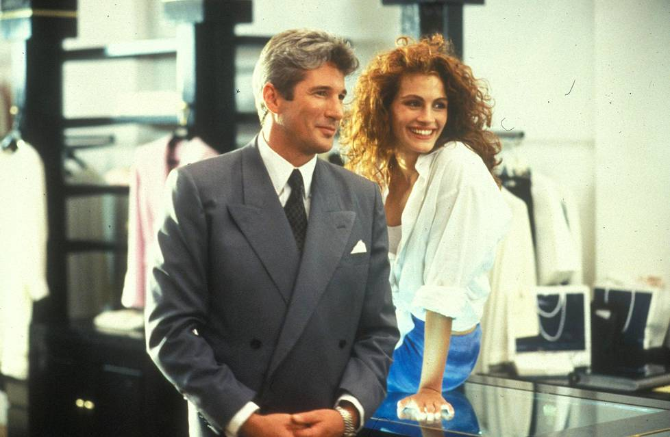 Richard Gere ja Julia Roberts