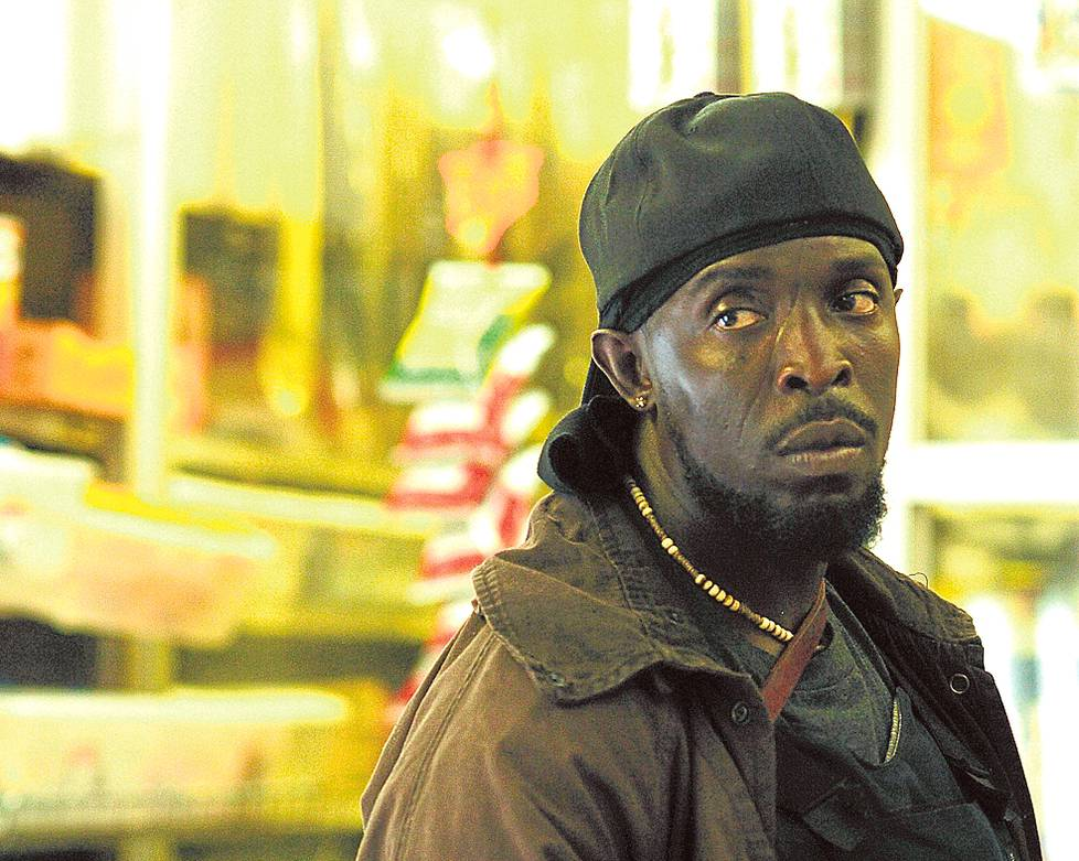 Omar Little (Michael K. Williams) Langalla-sarjasta.