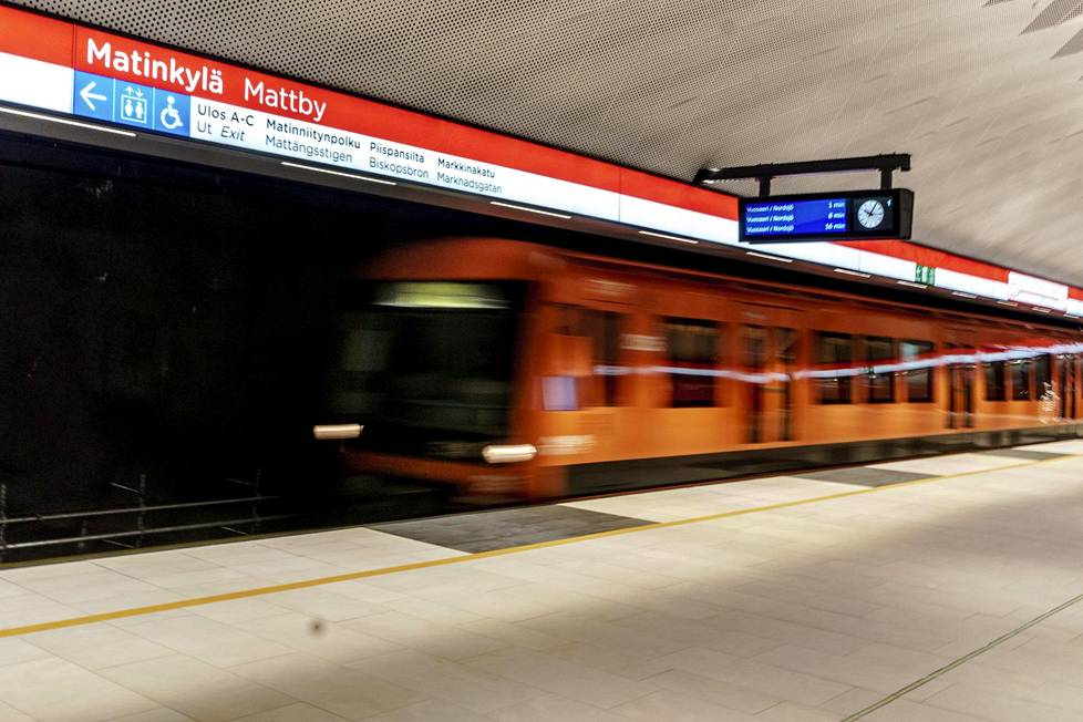 The so-called West Metro from Helsinki to neighboring Espoo was opened in November 2017, after more than a decade of starting and stopping the project.