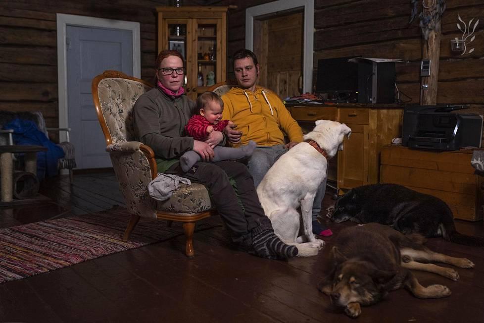 Kittilän Tepastossa asuvan Mari Mattilan ja Kari-Matti Bruunin perhe joutui koronapandemian vuoksi hankalaan tilanteeseen. Kahdeksankuisen Tiia-tyttären lisäksi perheeseen kuuluu lähes 50 huskyn lauma, joka on tuonut elannon perheelle. Nyt huskyilla ei ole töitä ja Kari-Matti pendelöi yli 800 kilometrin päässä Heinolassa rakennustöissä. Mari pyörittää perhettä ja kenneliä sillä välin ystävänsä avustuksella. Koirien ruoka riittää kesään asti.