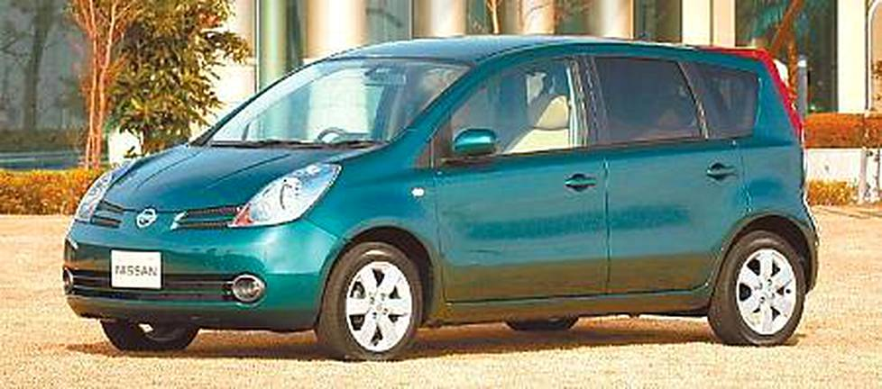 Nissanin uusi tila-auto on Note