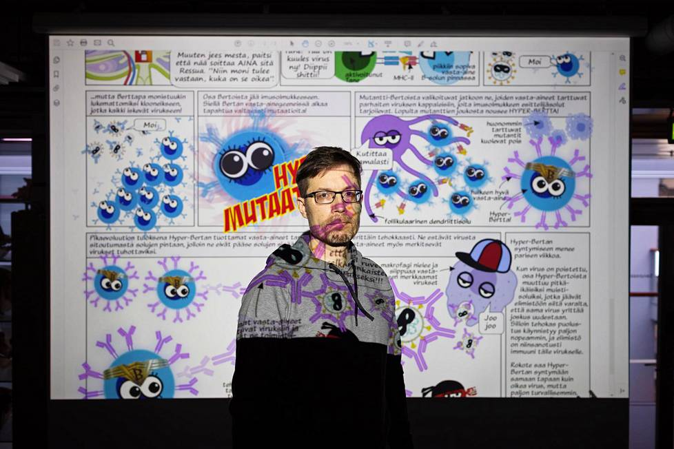 Yliopistonlehtori Mikael Niku on tehnyt Olipa kerran elämä -piirrettyä jäljitteleviä sarjakuvia. 1980-luvulla on ilmestynyt sarja on Nikun mukaan tuttu myös 2020-luvulla opintonsa aloittaville eläinlääkäriopiskelijoille.