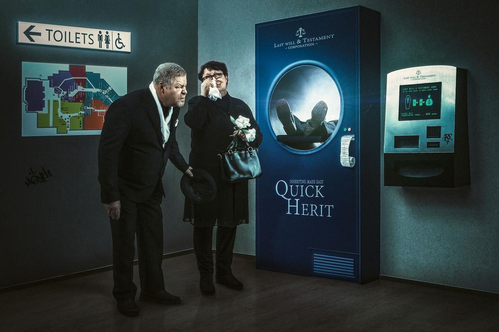Juhamatti Vahdersalo: Inherit (2018).