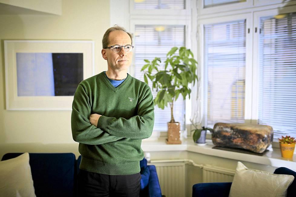 Lääketieteen tohtori, tutkimusprofessori Timo Partonen lokakuussa 2014.