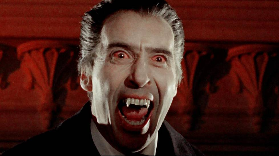 Cristopher Lee. Dracula, Prince of Darkness