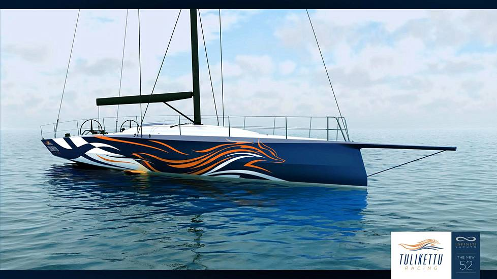 The boat coming to Arto Linnervuo's crew is scheduled to launch in the United States in July.  Observation image.