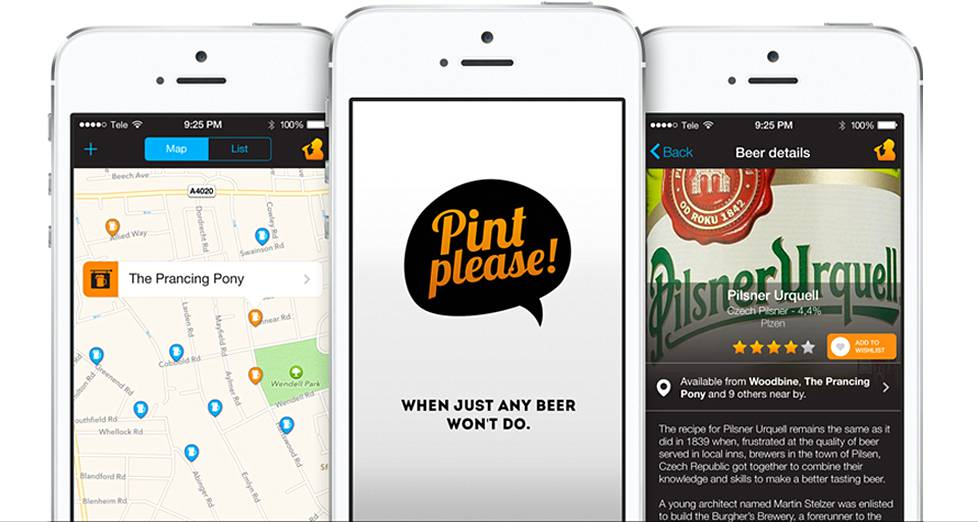 Pint Please on saatavilla Applen App Storesta.