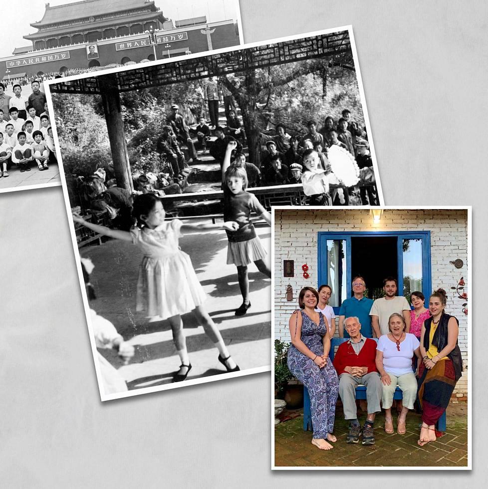 Lehtosen ja Martinsin perheen historia on Brasiliassa ja Suomessa, mutta he ovat eläneet pitkälti Kiinassa.