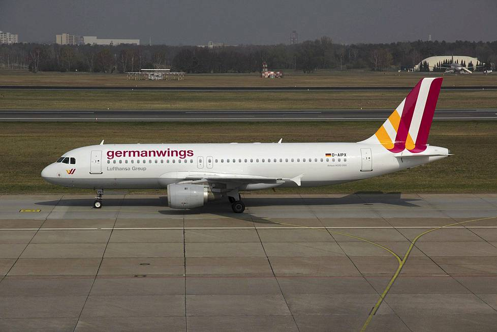 Germanwingsin Airbus A320.