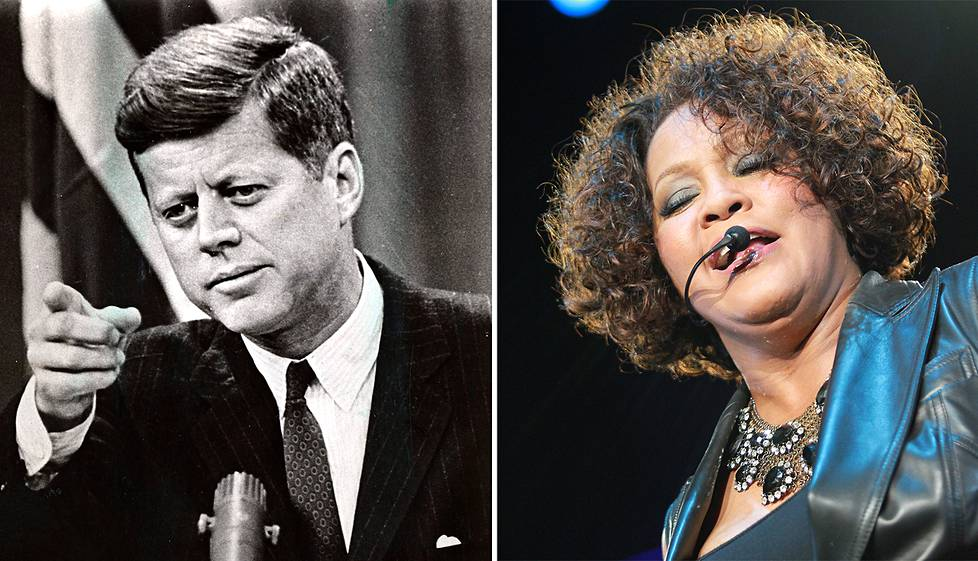 John F. Kennedy ja Whitney Houston