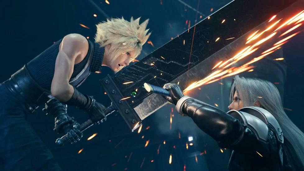 Final Fantasy VII:n uusintaversiota työstettiin vuosikausia.
