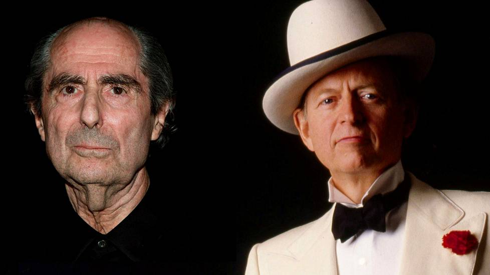 Philip Roth (vas.) ja Tom Wolfe