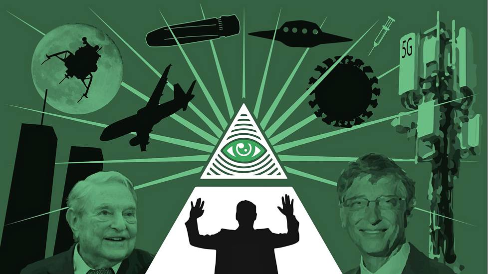 Salaliittoteoriat ovat nousseet tänä vuonna isoksi ilmiöksi. Miljardöörit George Soros ja Bill Gates ovat joutuneet salaliittoteoreetikoiden huhujen kohteiksi.