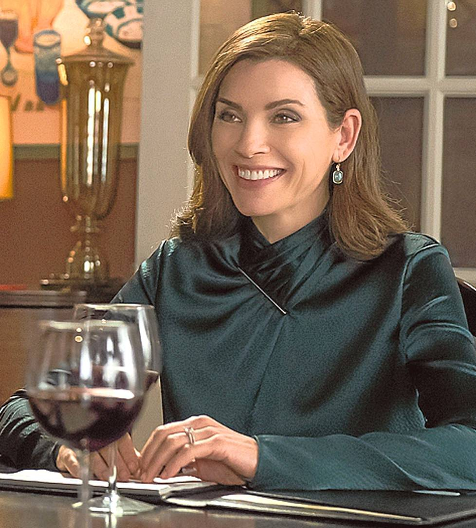 Julianne Margulies on Good Wifen Alicia Florrick.
