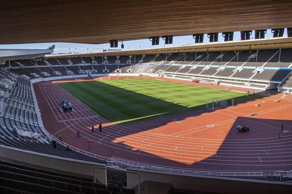 Olympiastadion valmistui suuresta remontista vuoden 2020 kesällä.