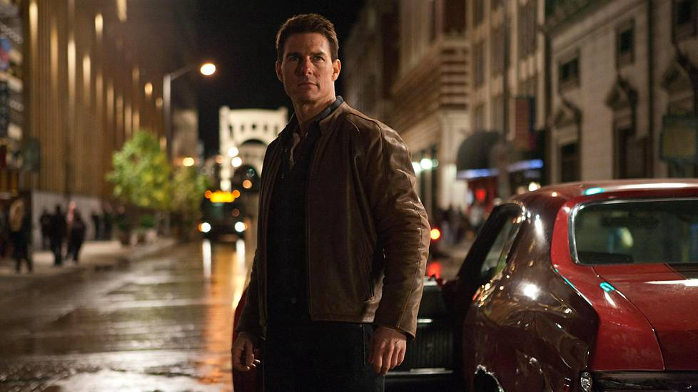 Tom Cruise on Jack Reacher.