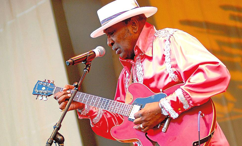 "Eddy ""The Chief"" Clearwater Chicago Blues -festivaalilla vuonna 2011."