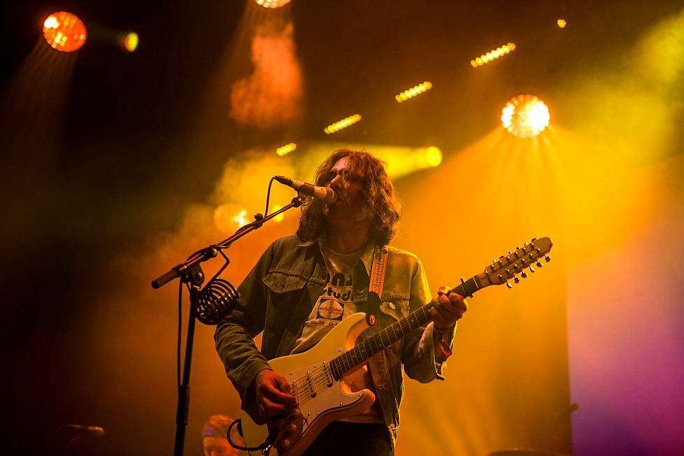 The War on Drugsin kitaristi Adam Granduciel.