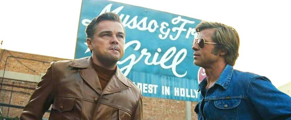 Leonardo Di Caprio ja Brad Pitt ovat ehdolla Oscar-voittajiksi elokuvasta Once Upon A Time in Hollywood.