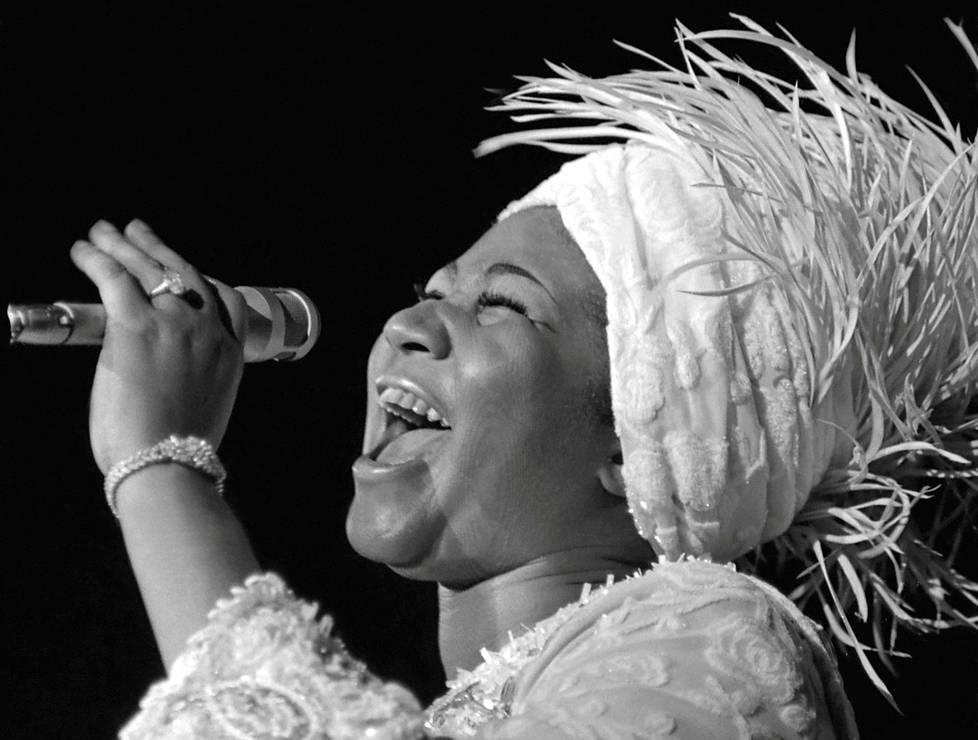 Aretha Franklin 1942–2018