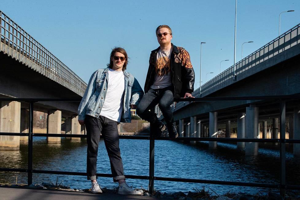 Ripatti ja Pelkonen työskentelevät Ursus Factoryn parissa tällä hetkellä ammatikseen.
