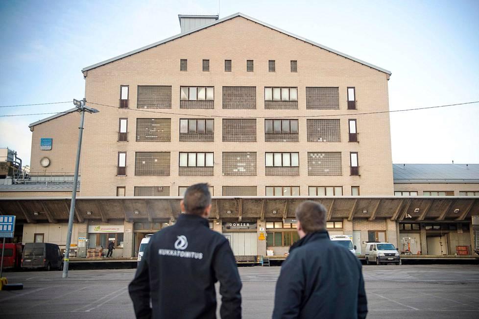 Lähes 70-vuotias pakastamo on Helsingissä Hermannin kaupunginosassa.