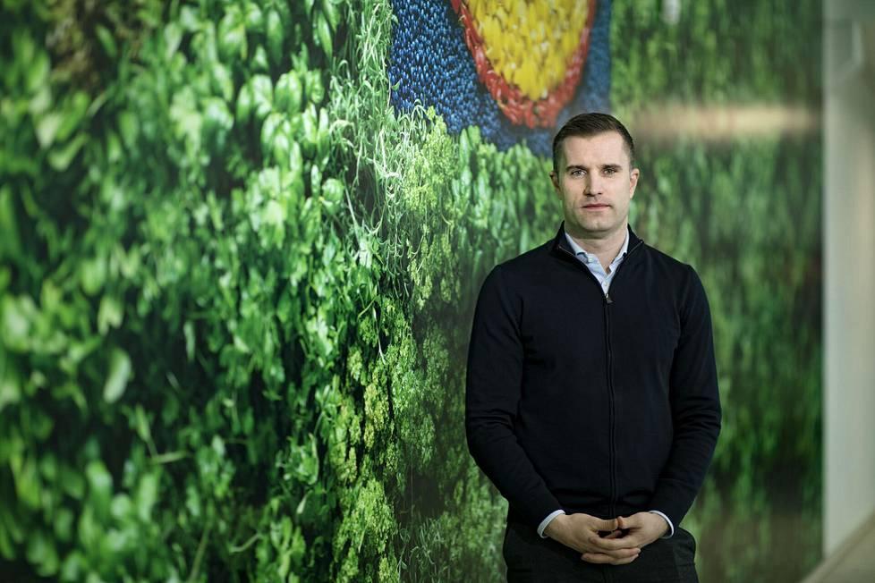Nicholas Pennanen, 35, aloitti Lidl Suomen toimitusjohtajana lokakuussa 2019.