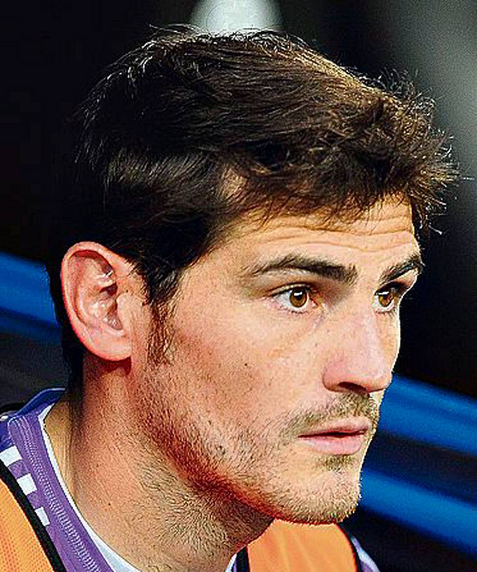 Iker Casillas,<br />Real Madrid