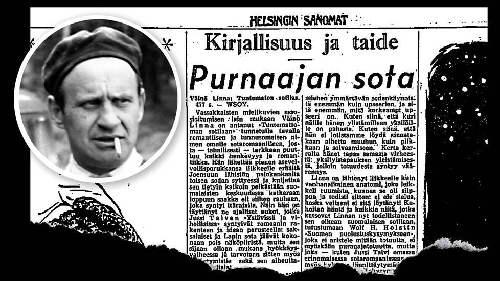 WSOY Julkaisee Tuntematon Sotilas -Elokuvakirjan - Tuntematon Sotilas