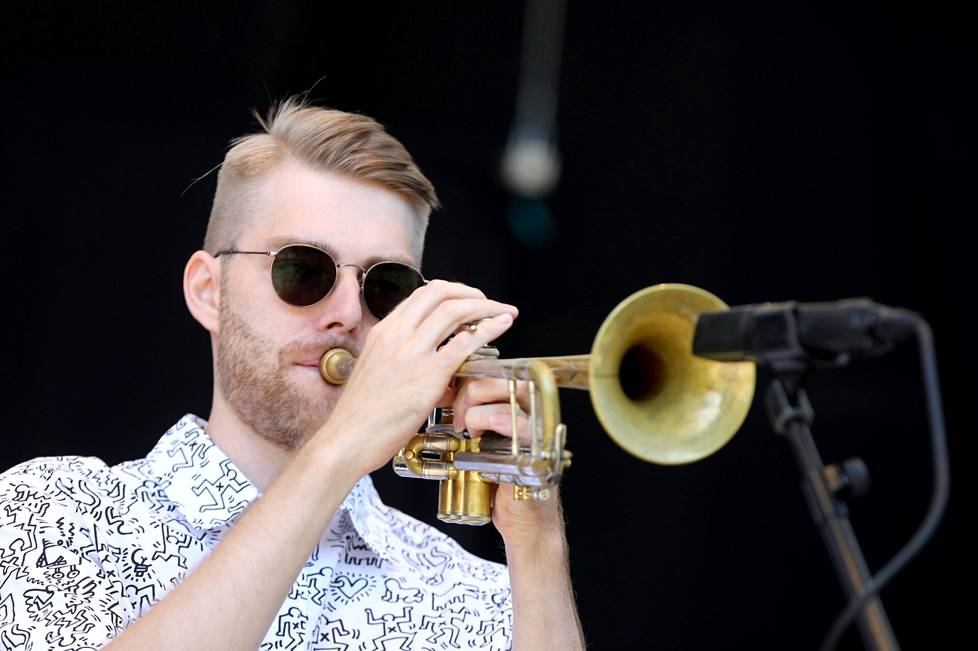 Trumpetisti Tomi Nikku palkittiin vuoden nousevana kykynä. Hän esiintyi kvintetteineen perjantaina. Ensilevy ilmestyy syksyllä.