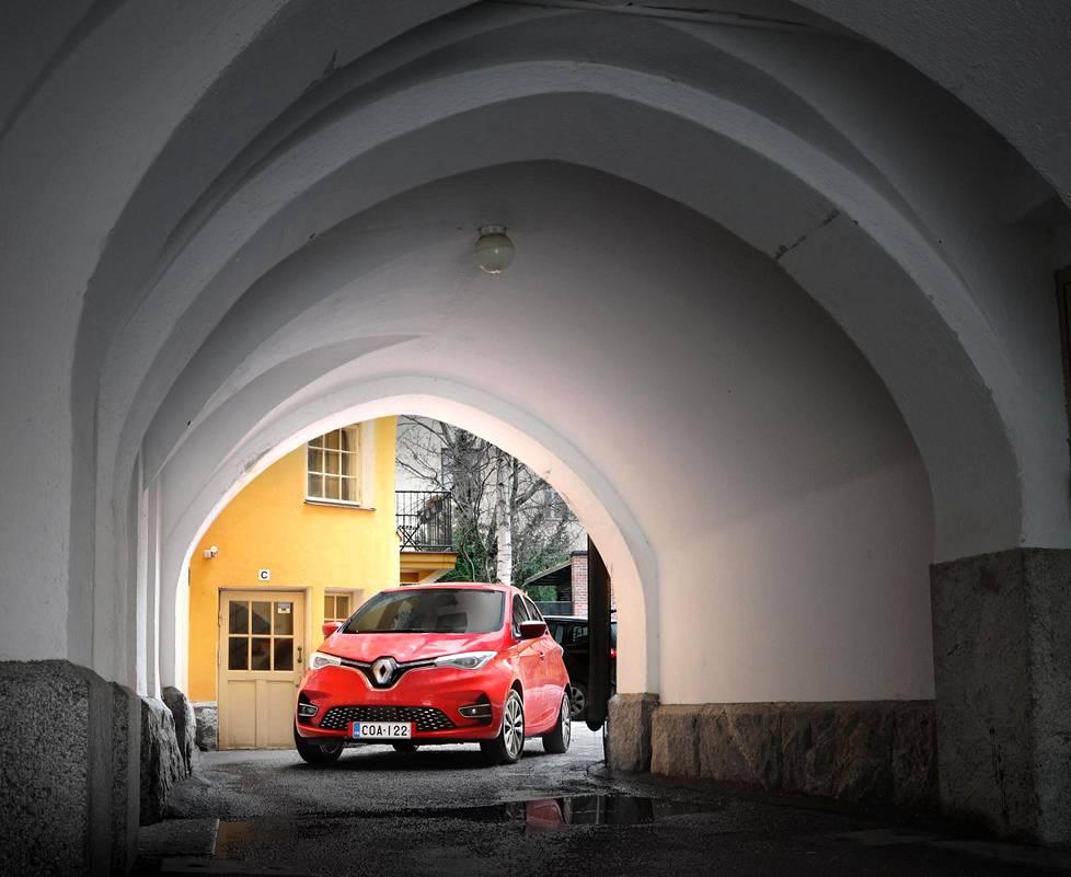 Renault Zoe on ketterä sähköauto.