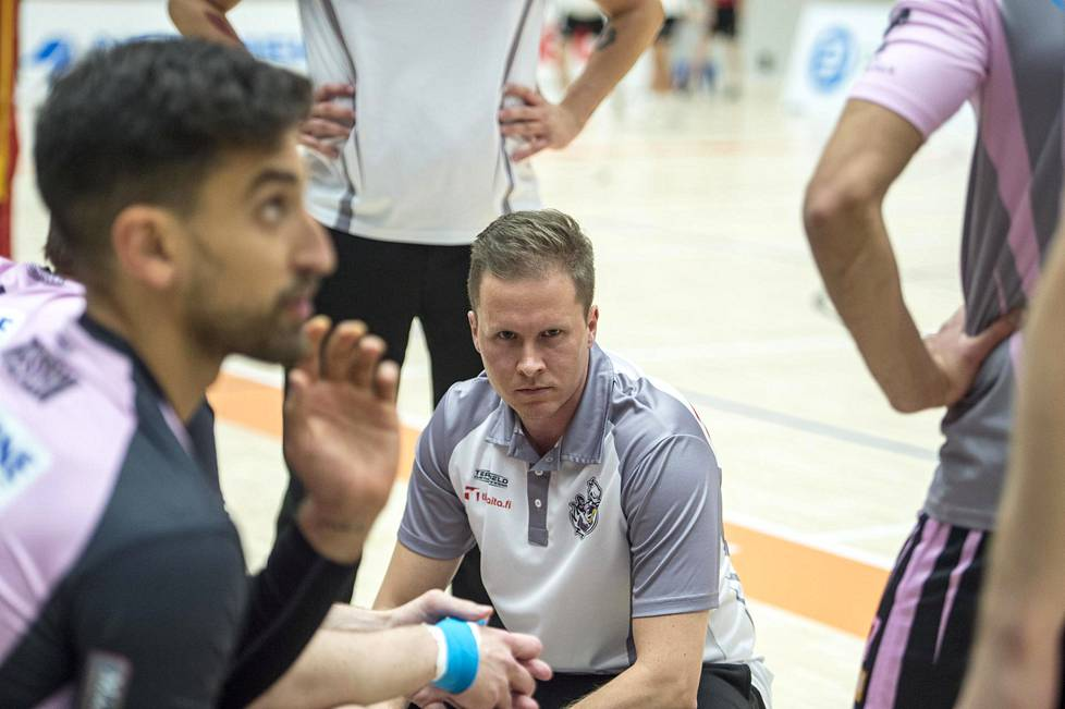 Juho Rajala coaches Vantaa Ducks through his second season.