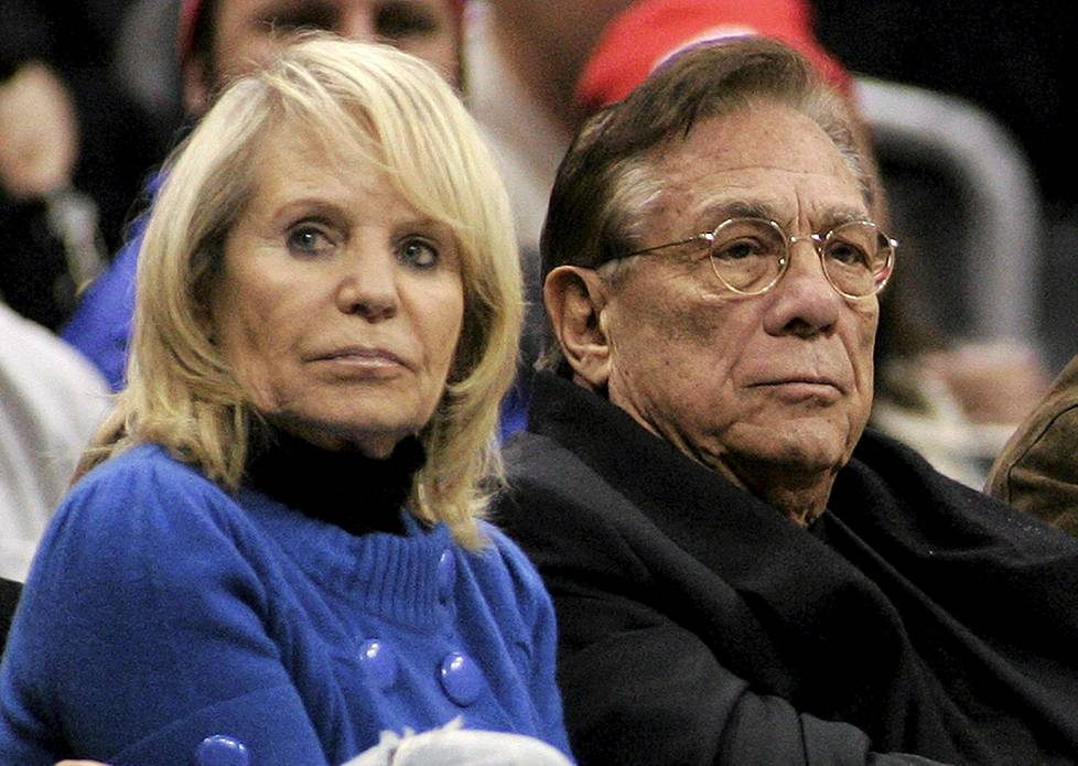 Shelly ja Donald Sterling.