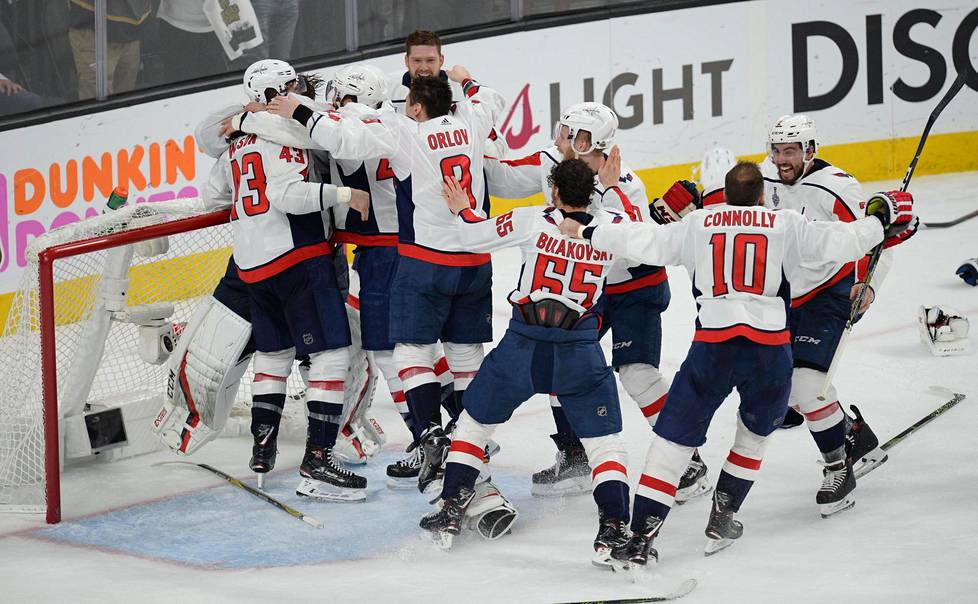 Washington Capitals on NHL:n mestari vuosimallia 2018.